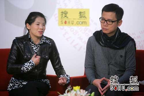 CCTV2《生财有道》栏目主编文新宇、主持人李晓东做客搜狐