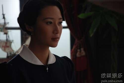 赵子惠在《民国往事》中的扮相