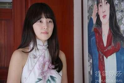 韩智慧旗袍造型