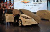 疑似赛欧电动车 上海通用SNL-EV车展首现