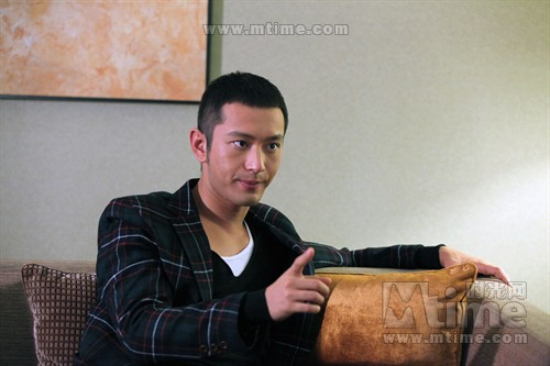 黄晓明:参与拍摄《赵氏孤儿》是今年做的一件最新锐的事情