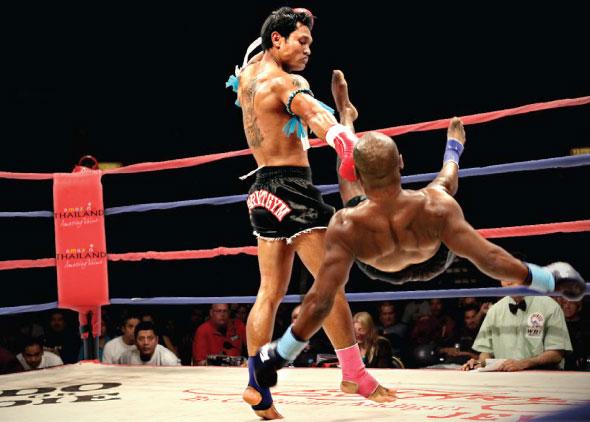 泰拳高手麦乐佩曾转战综合搏击(MMA)