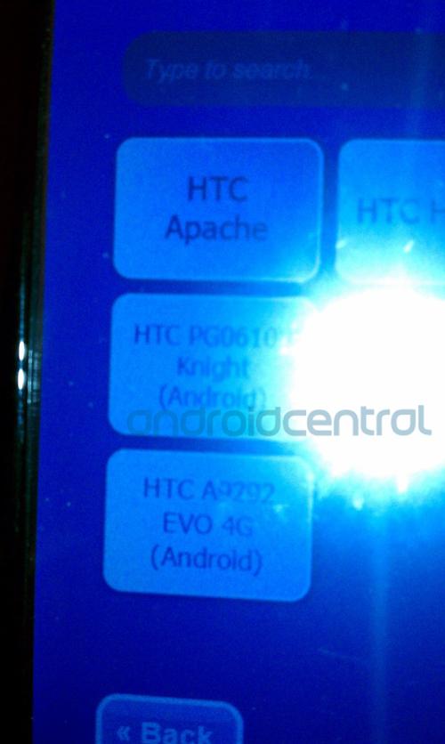 侧滑全键盘Android旗舰 HTC Knight曝光
