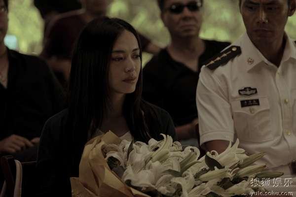 芒果含泪参加李香山人生告别式