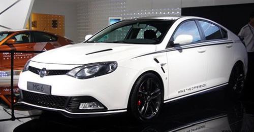 成都车展上的MG6运动版-完全可超越MG6运动版 广州车展MG6改装车高清图片