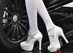 白色丝袜诱惑