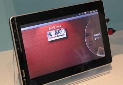 明基首款Android平板机明年Q1发售