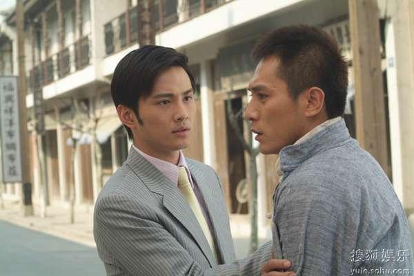 徐正曦和刘烨在《男儿本色》