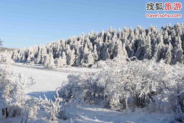 林海雪原仙女山