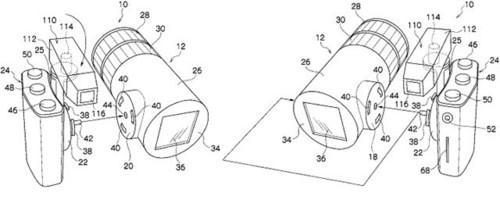 可变形DC?富士可拆卸数码相机专利曝光