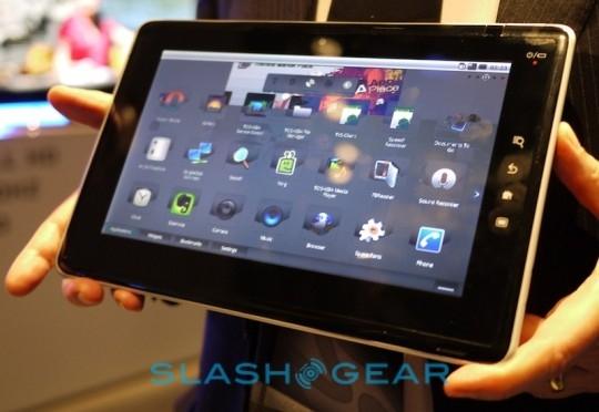 大范围修补 东芝Android平板机固件升级