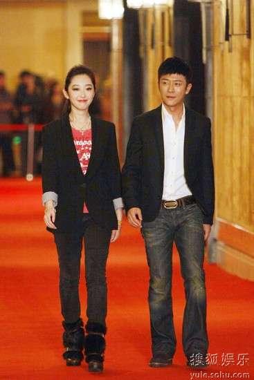 林申、蒋梦婕走上红毯