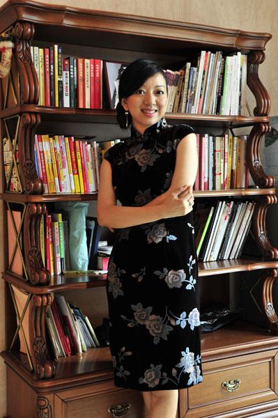 上海新高姿化妆品有限公司总经理 陈丹霞