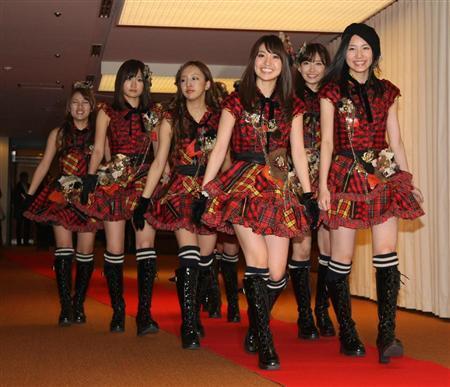 AKB48参加红白歌会彩排