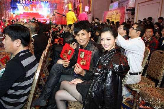 于晓光与刘思齐扮演者在盛典现场