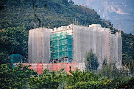 李嘉诚深水湾道79号大宅 图片来源 香港星岛日报图片