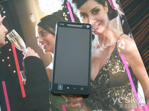 低调的TD智能旗舰 酷派8910对比HTC T9188