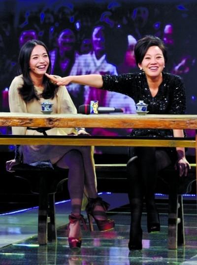 """姚晨与闫妮现场""""拆台"""",相互开起了玩笑"""