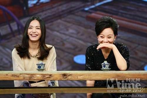 闫妮、姚晨出席'武林'巨星秀