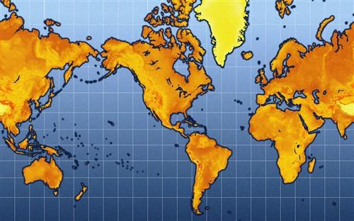 如果您摊开世界地图细细察看