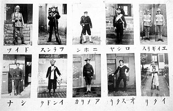 外国人镜头下的八国联军(组图)