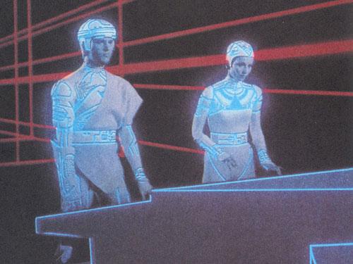 《电子世界争霸战》概念超前特技粗糙