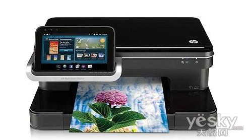 CES2011:HP推出带Android平板电脑打印机