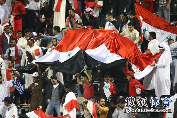 叙利亚国旗现身