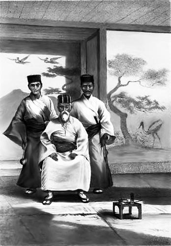 琉球人_琉球深受中国文化影响.看威廉·海涅笔下的琉球人,很像中国人.