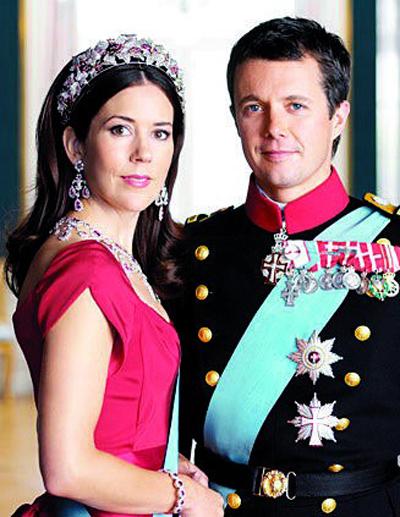 丹麦二王妃_丹麦王储与王妃