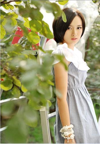 江铠同在《一不小心爱上你》中饰演女主角