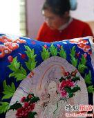 青海盘绣 土族女人一生的必修课