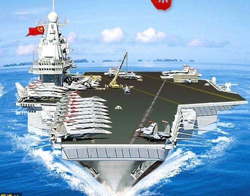 中国几艘航?_中国第一艘国产航母下水