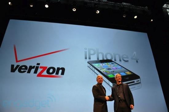 CDMA版iPhone 4发布 2月上市