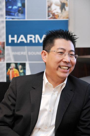 哈曼消费音响部大中华区副总裁兼总经理郭志明