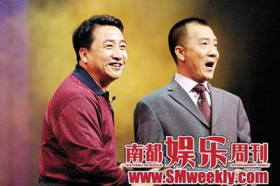 姜昆(左)和春晚老搭档戴志成