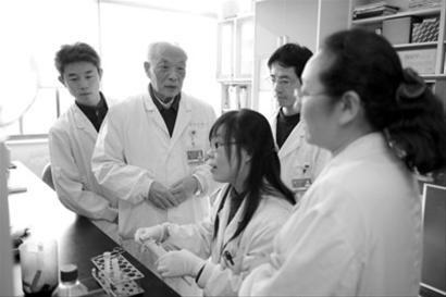 """▲ 王振义被世界医学界誉为 """"癌症诱导分化第一人"""""""