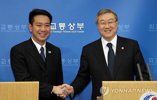 韩日外长举行会谈 希望朝鲜表现无核化诚意图片 46936 500x318