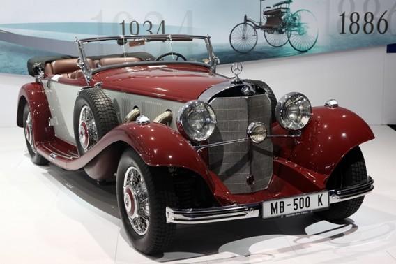 梅赛德斯-奔驰500 K敞篷跑车