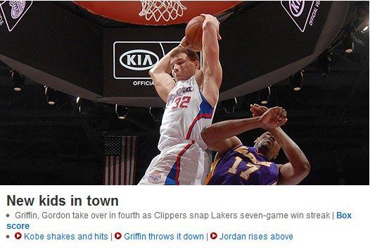 NBA官方主页