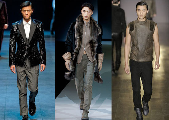 赵磊成为第一个中国模特走上Docle&Gabbana的舞台