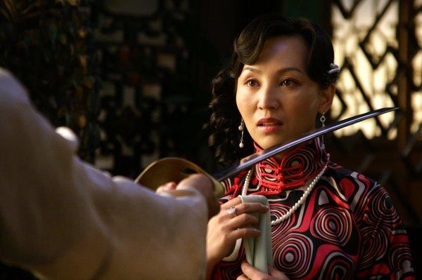 姨_四姨太秋香的扮演者岳丽娜实为导演郭靖宇的亲媳妇儿