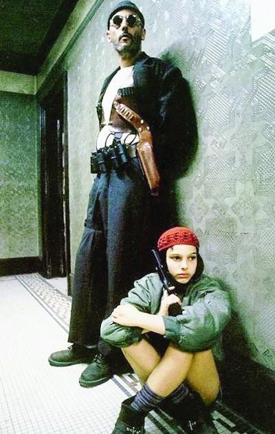 娜塔莉在《这个杀手不太冷》中的扮相