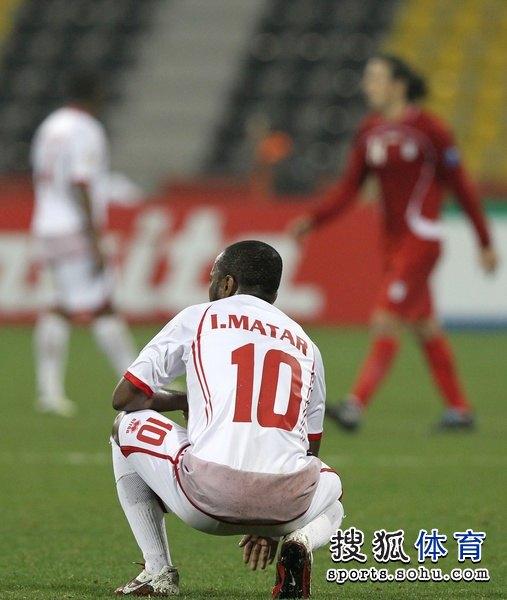 图文:伊朗队3比0阿联酋 伊斯梅尔遗憾输球
