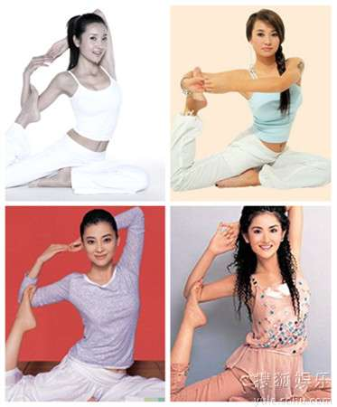 依次为王妍苏、爱戴、梅婷、谢娜