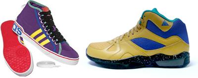 左为Adidas Original,右为Nike Sportswear