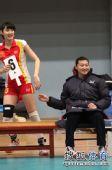 图文:北京女排3-0北航 杨昊换人瞬间