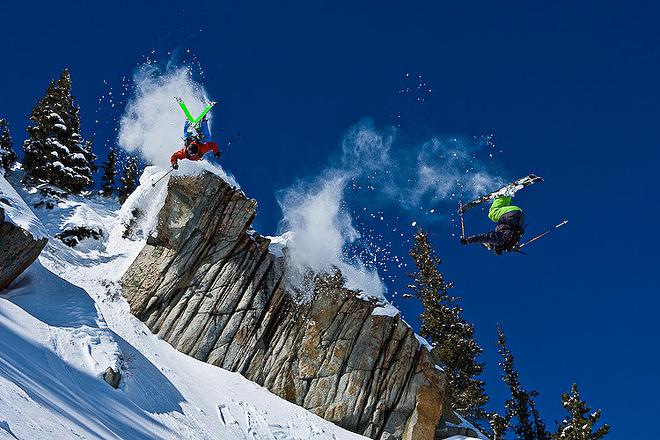 惊艳 滑雪大片