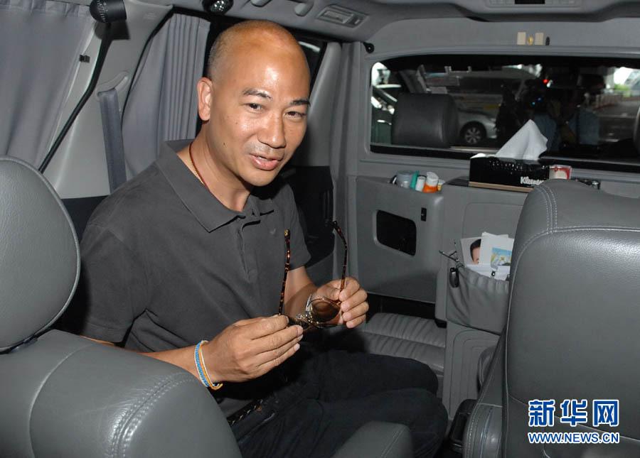 被金边市法庭判处九个月监禁的五名泰国人回到泰国