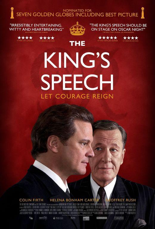 《社交网络》《国王的演讲》在颁奖季终极战中再次遭遇。